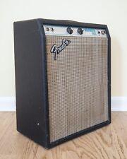 1976 Fender Musicmaster Bass Amp Vintage 1x12 Silverface Tube Guitar Amp 6V6