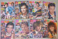 BRAVO Hefte  von 1987 Nr. 6.  7.  8.  9.  10.  11.  12.  13.. / 8 Stück