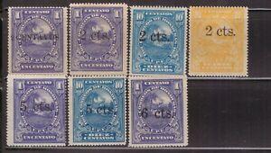 Honduras,Scott#141-147,MH,Scott$28