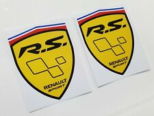 Renault Megane Clio Twingo RS R.S. 80mm Wing Decals Stickers styling graphics