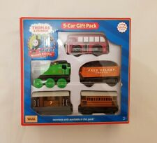 Thomas The Tank & Friends WOOD 5 CAR GIFT PACK INC HENRIETTA WOODEN NEW IN BOX
