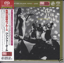 """One For All - No Problem"" Japan Venus Records Audiophile DSD SACD CD New"