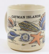 Cayman Islands Beach Sea Shell Star Fish Coffee Mug Cup