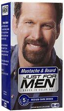 Just For Men Brush-In Mustache Medium-Dark Brown Kit