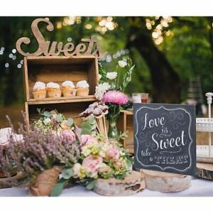 Love is Sweet Sign Wedding Decoration Take a Treat Lolly Buffet Engagement Party