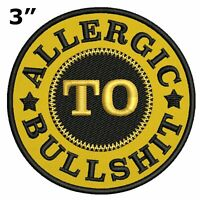 Allergic to BULLSH*T Car Truck Window Bumper Graphics Sticker Decal