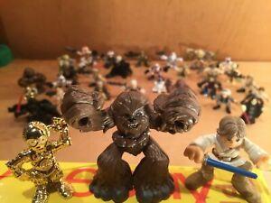 U CHOOSE Star Wars GALACTIC HEROES Playskool Figures VEHICLES creatures SHIPS