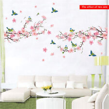 Flower Branch Wall Sticker Removable DIY Art Mural Vinyl Home Room Decals Decor