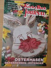 Zeitschrift KOCH & BACK- Journal 3/1990 österreichische Koch-und Eßkultur