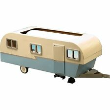 Greenleaf - Miniature Travel Trailer Dollhouse - Wood / Wooden Dollhouse Kit