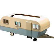 Greenleaf - Miniature Travel Trailer Dollhouse - Wood / Wooden Dollhouse Kit