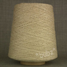 SUPER SOFT PIMA COTTON YARN NATURAL OATMEAL 500g CONE 10 BALLS 3 4 PLY KNITTING