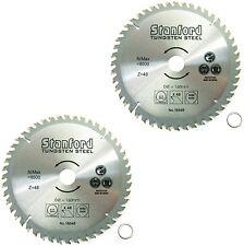 2x Sägeblatt Ø 160mm 48 Zähne Kreissägeblatt hartmetallbestückt Holzbearbeitung