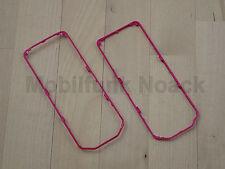 Original Nokia 7500 Prism Back Trim Painted | Seitencover | Cover Pink NEU