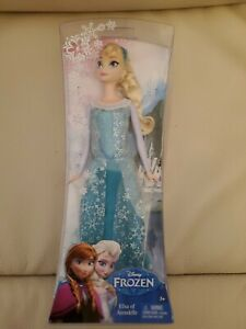 """Disney Elsa of Arendelle Doll 12"""" Y9960 New in the Box"""