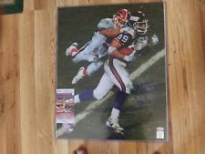 Mark Bavaro Signed  NY GIANTS 16 X 20 JSA CERT