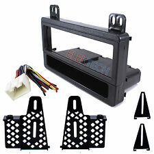 Radio Replacement Dash Mount Kit 1-DIN w/Pocket/Harness for Ford Lincoln Mercury