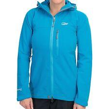 NWT $150 Lowe Alpine Perfect Storm Jacket Blue Softshell Women's Small S -UK 10
