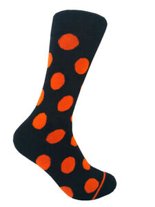 Men's Mid-calf Various Colors Multi-occasion Polka Dots Dress Socks