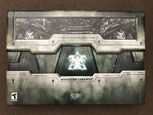 StarCraft II 2 Wings Of Liberty Collector's Edition New