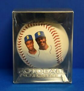 KEN GRIFFEY JR. & SR. FOTOBALL SEATTLE MARINERS MLB Fotoball