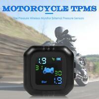 ahomi Motorrad TPMS Reifendruck Wireless Monitor Externe Drucksensoren