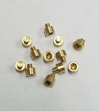 25 Grain Gold Tip FACT Arrow Weight Screw Combo 12ct .300 shafts FOC Brass gr