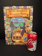 Pirate Plunders Treasure Hunt Pop Up WHODUNIT Book