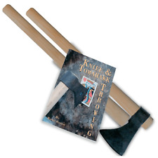 Tomahawk Throwing, 1 Tomahawk Head, 2 Hickory Handles, 64 Pages Book on Throwing