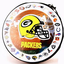 GREEN BAY PACKERS NFL CD/DVD/GAME VIDEO STORAGE CARRYING CASE ORGANIZER HOLDER