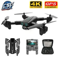 S167 GPS Drone With 4K Camera 2.4G WIFI Fpv HD Follow Me Foldable Quadcopter