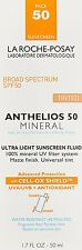 La Roche-Posay Anthelios 50 Mineral Sunscreen for Face, 1.7 fl oz