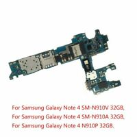 Repair Motherboard Main Board for Samsung Galaxy Note 4 N910V A P 32G Unlocked