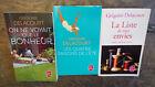 lot 3 livres Grégoire Delacourt la liste de mes envies Les quatre saisons d'été