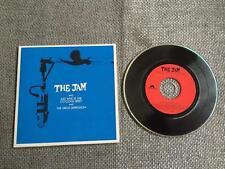 The Jam CD Single Just Who Is The 5 O'clock Hero   Card Sleeve