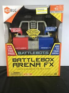 HEXBUG BATTLEBOTS BATTLEBOX ARENA FX New In Box Factory Sealed