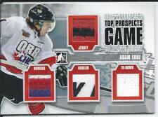 2012-13 ITG Draft Prospects Top Prospects Complete Jersey ADAM ERNE #TPCJ-09 /9