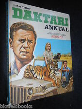 DAKTARI ANNUAL (1968) Vintage Children's TV Tie In Book - Safari/African Stories