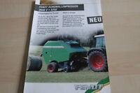 126552) Fendt Rundballenpresse 2600 V 3250 Prospekt 200?