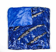 "Kovot Sequin Mermaid Style Throw Blanket 50"" x 60"" - Reversible Color Sequins To"