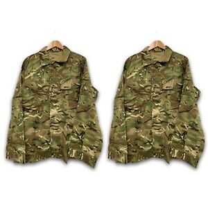 PACK OF 2 MTP CAMO TROPICAL COMBAT BUTTON UP JACKET SHIRT - Sizes , Army NEW