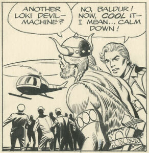 Dan Barry - Flash Gordon daily, 1986-08-08, NO RESERVE!