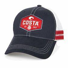 Costa Reel Trucker Hat, Navy