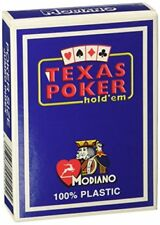 Modiano Texas Poker Jumbo Index Blu