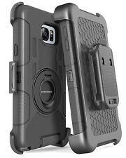 For Samsung Galaxy Note 5 Heavy Duty Full Body Kickstand Protective Case Holster