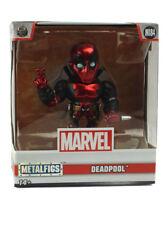 "Jada Toys Die-Cast Metals Deadpool 4"" Inch Figure Candy Red Marvel Comics M184"