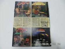 LA REDOUTE Printemps été 1964 Meuble Electroménager Vaisselle Mobilier de jardin