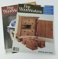 Fine WoodWorking Magazine  1988 (2) Issues 68 + 72