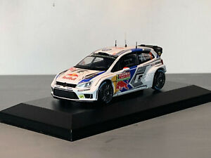 RALLY 1/43 SPARK RED BULL VW POLO R WRC JARI MATTI LATVALA MONTE CARLO 2016