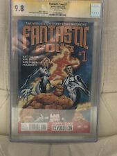 FANTASTIC FOUR #1 CGC SS 9.8 SIGNED BY MATT FRACTION